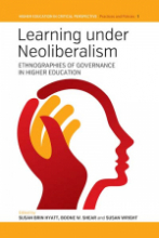 Learning Under Neoliberalism Book Cover