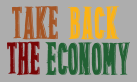 Take Back the Economy text in logo