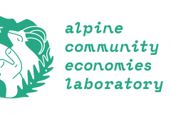logo of the Alpine Community Economies Laboratory